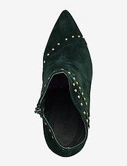 Sofie Schnoor - Boot - ankelstøvler med hæl - dark green - 3