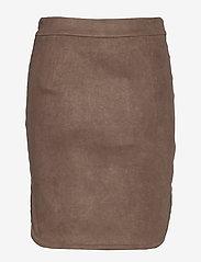 Sofie Schnoor - Skirt - midinederdele - dark brown - 1