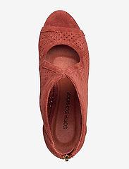 Sofie Schnoor - Shoe - ankelstøvler med hæl - cherry red - 3