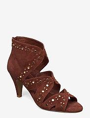 Sofie Schnoor - Shoe - ankelstøvler med hæl - burned rose - 0