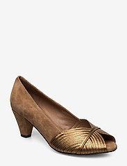Sofie Schnoor - Shoe - escarpins à bout ouvert - toffee - 0