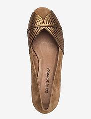 Sofie Schnoor - Shoe - peeptoes - toffee - 3
