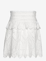 Sofie Schnoor - Skirt - midinederdele - white - 1