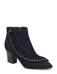 boot frill - BLACK
