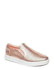 Shoe Loafer metallic - ROSEGOLD