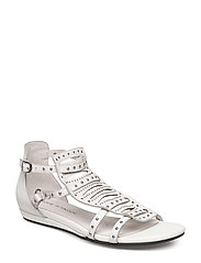 Rivet sandal - WHITE