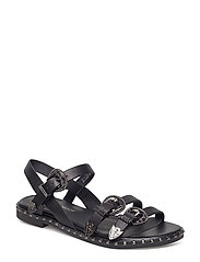 Sandal buckles - BLACK