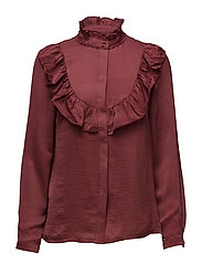 Shirt - DARK BURGUNDY