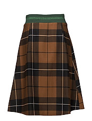 Skirt - BROWN CHECK