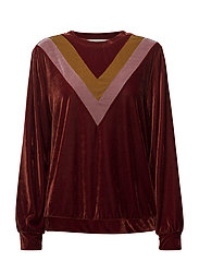 Blouse - DARK BURGUNDY