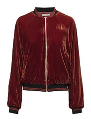 Bomber - DARK BURGUNDY