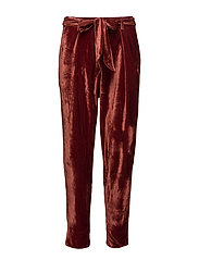 Pants - DARK BURGUNDY