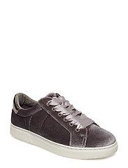 Shoe Sneaker velvet - GREY