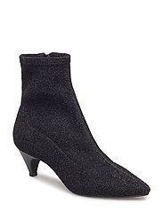 Boot high textile - BLACK