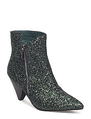 Boot glitter - DARK GREEN