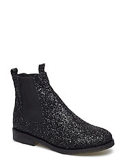 boot classic glitter - BLACK