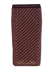 Skirt - PURPLE STRIPE