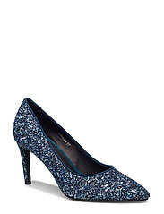 Shoe high heel glitter