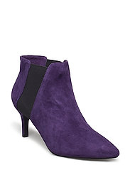 suede stiletto - PURPLE