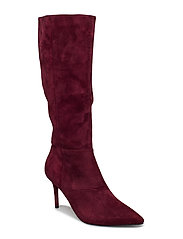stiletto boot - PLUM