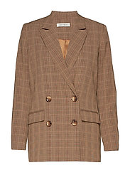 Blazer - BROWN CHECK