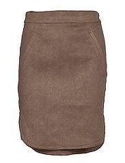 Skirt - DARK BROWN