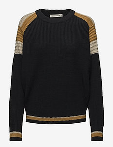 Knit - jumpers - black