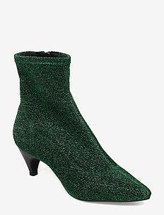 Boot high textile - talon haut - green