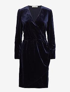 Dress - slå-om-kjoler - d.blue