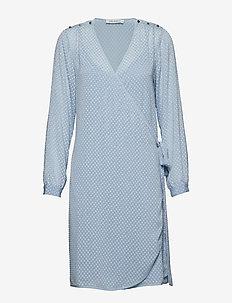 Dress - slå-om-kjoler - light blue