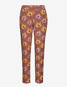 Pants - slim fit spodnie - cherry red