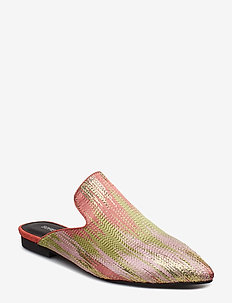 Shoe flat - flat sandals - oriental rose