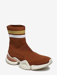 Sock sneaker - CAMEL