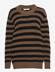 Blouse - trøjer - dark brown