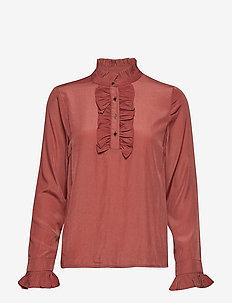 Shirt - long sleeved blouses - rose