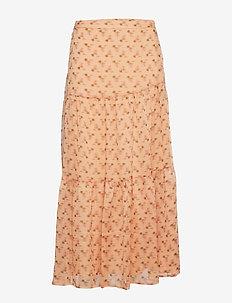 Skirt - maxi nederdele - camel