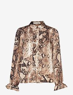 Shirt - long sleeved blouses - snake
