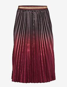 Skirt - midinederdele - earth red