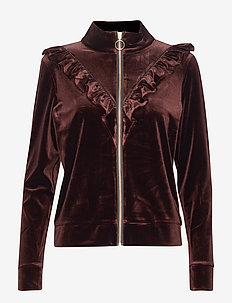 Bomber - sweatshirts - dark brown