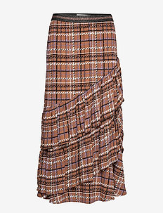 Skirt - maxikjolar - brown