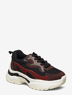 Shoe - chunky sneakers - brown