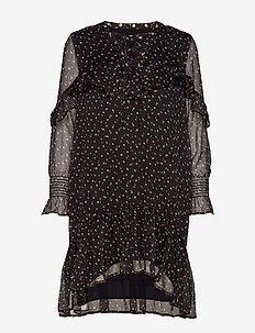 Dress - slå-om-kjoler - black