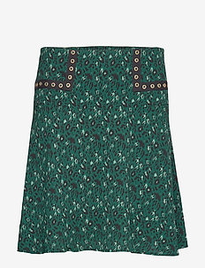 Skirt - korte nederdele - dark green