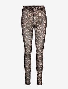 Leggings - leggings - light brown leopard