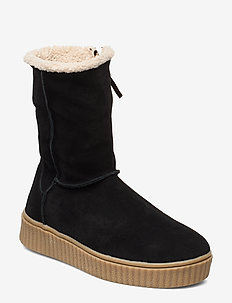 Boot - langskaftede - black