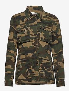 Jacket - vestes utilitaires - army