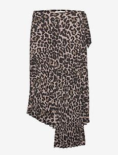 Skirt - midinederdele - leopard