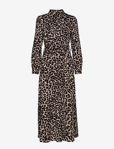 Dress - skjortekjoler - leopard