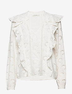 Shirt - langærmede bluser - off white