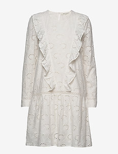 Dress - midi dresses - off white
